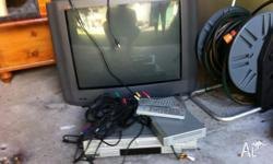 tv and digital set top box and dvd plaler pick up is