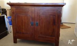 Solid timber TV/Entertainment unit in great condition.