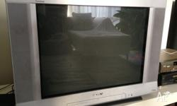"2 Sony CRT, 27"" TV's for sale, both we digitial set top"
