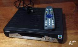 TVB Jadeworld satellite receiver box with remote. Pick