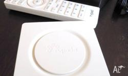 Great condition TVPAD 3 white edition. Pre-installed