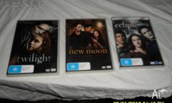 Twilight, Twilight New Moon, Twilight eclipse these