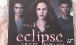Twilight Eclipse board game. Aged 13+. 2-8 Players.