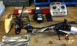 Selling my Twister 400 Heli with heaps of spares .Not