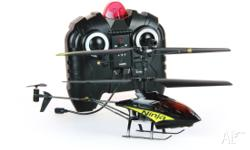 Twister Ninja 3CH RC Remote Control Helicopter. Good