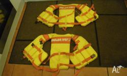 DE JA VU JUNIOR LIFE JACKETS BUOYANCY VESTS FLOAT VEST