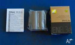 BRAND NEW NEVER USED NIKON EN-EL3e Batteries. These are