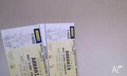 Two ticktes for Rihanna concert in Brisbane both for