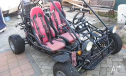 TWO SEATER BUGGY 250CC WATER COOLED FIRM ON PRICE...
