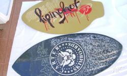 For sale are two skim boards 1 x piping hot 1 x carter