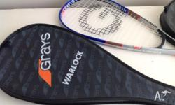 We have two squash racquets for sale, they have only