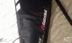 I am selling two tennis racquets (good brands - babolat