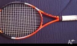 Two great tennis raquets in awesome condition for quick