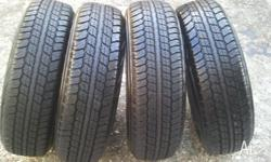 4 Brand new Dunlop Grandtrek AT20 225�70R�17 tyres to