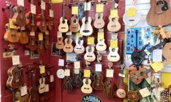 Ukuleles: 20% off EVERY ukulele over $100 - no