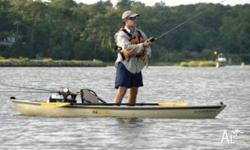 Ultimate12 fishing/touring canoe., Open / Dinghy,