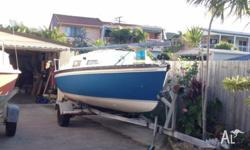 Ultimate 18D (Drop keel) for sale on trailer. 2 sails,