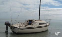 YACHT IS IN MAGIC CONDITION. HAS 6 SETS OF SAILS, BOAT