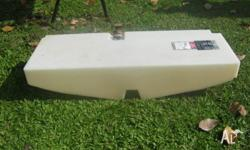 SANTAMARINE 80 Lt. fuel tank, 2 breathers, sender unit,