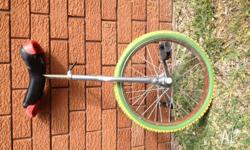 I have a unicycle for sale. Why act the clown when you