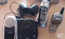 Uniden Cordless Phone with Answering Machine The phones