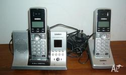Uniden Walkabout Phone System. Model Number WDSS5335+1.