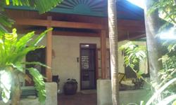 Pavilion style, 3 brm, 2 acres of rainforest and