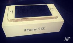 Selling: *UNLOCKED* GOLD iPhone 5s 64GB in perfect