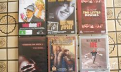 The following six DVD's are for sale: Unstrung Heroes,