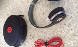 Selling a pair of Dr. Dre Beats Solo HD headphones that
