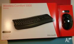 MICROSOFT WIRELESS COMFORT DESKTOP 5000 ( MOUSE &
