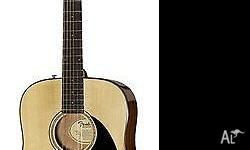 Less than 2 month old, Fender Acoustic Steel Guitar -