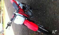 Selling my Honda CRF 150. Second owner bought to be