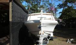 "23'6"" CARRIBEAN CRUSADER HARD TOP WITH FULL STORM"