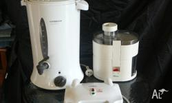8 ltr water urn. juicer & sandwich maker. Sell as a