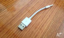 Up for sale is a Brand New USB Cable for Ipod Shuffle.