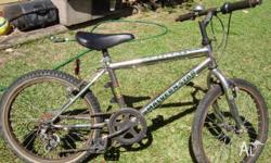 20inch 5speed bicycle in working order.