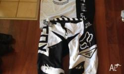 "2013 Fox Gear size 36"" pants and XL jersey. Not ripped"