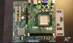 USED HP COMPAQ MCP61PM-HM (Iris8) AM2 MOTHERBOARD. THE