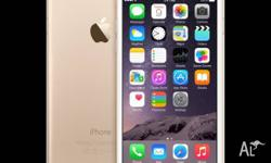 Used iPhone 6 16GB Gold Very good condition Very clean,