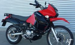2009 Kawasaki KLR650 only 6840km at trade. 2009