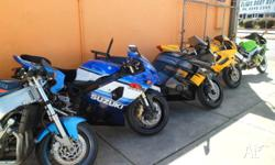 WE'VE GOT A WIDE RANGE OF CARS AND BIKES FOR SALE