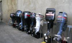 USED OUTBOARDS FOR SALE- ON SALE AT COREY GAUCI MARINE