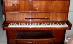 Petrof piano for sale. Ex music teacher piano well