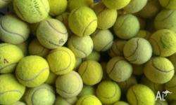 USED TENNIS BALLS FOR SALE! Tennis balls have been used