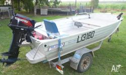 FOR SALE Sea-Jay Bass N Barra 4.0M boat - Full carpeted