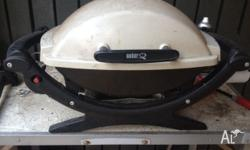 We are moving overseas and are selling our Weber BBQ.