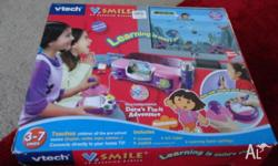 pink v- smile v tech 3- 7 years teaches children all