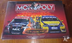 BRAND NEW & SEALED 2007 V8 SUPERCARS MONOPOLY FOR AGES