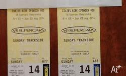 Due to work commitments, I have two Trackside tickets